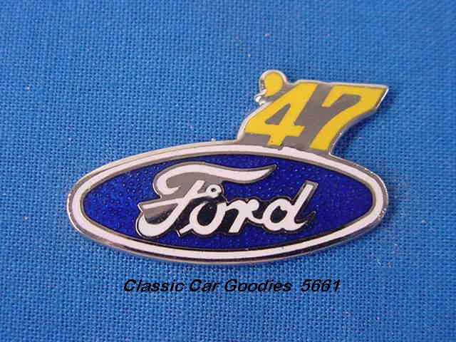 1947 Ford Blue Oval Hat Pin