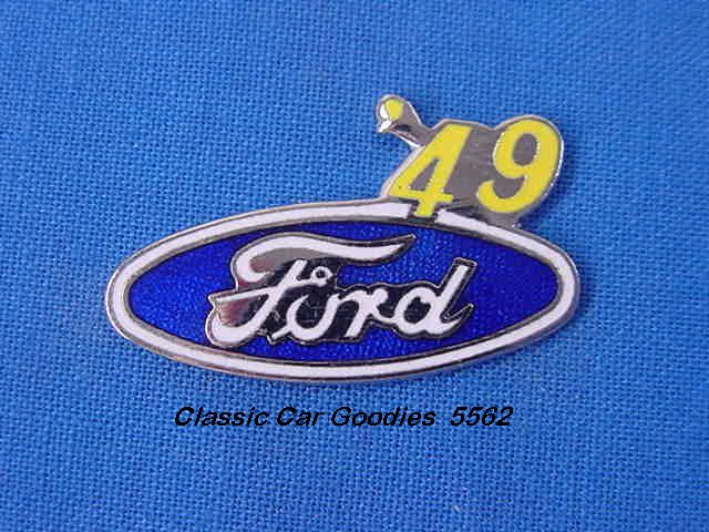 1949 Ford Blue Oval Hat Pin