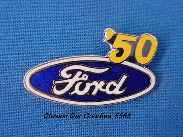 1950 Ford Blue Oval Hat Pin