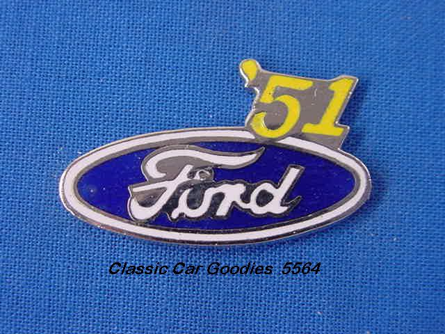 1951 Ford Blue Oval Hat Pin