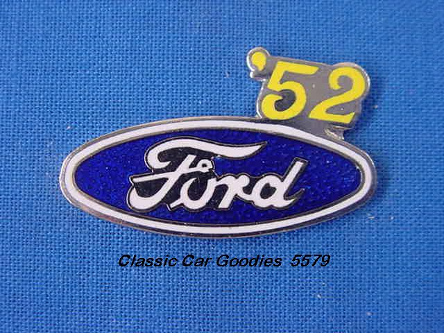 1952 Ford Blue Oval Hat Pin