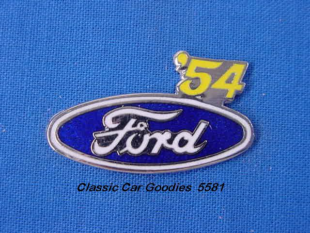 1954 Ford Blue Oval Hat Pin