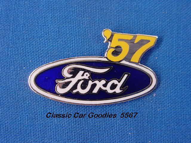 1957 Ford Blue Oval Hat Pin
