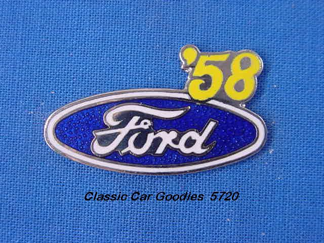 1958 Ford Blue Oval Hat Pin