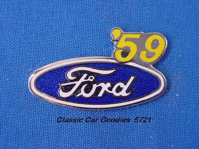 1959 Ford Blue Oval Hat Pin