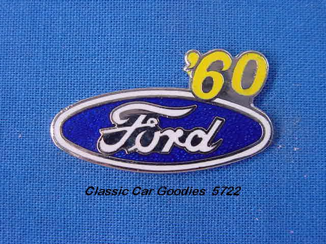 1960 Ford Blue Oval Hat Pin