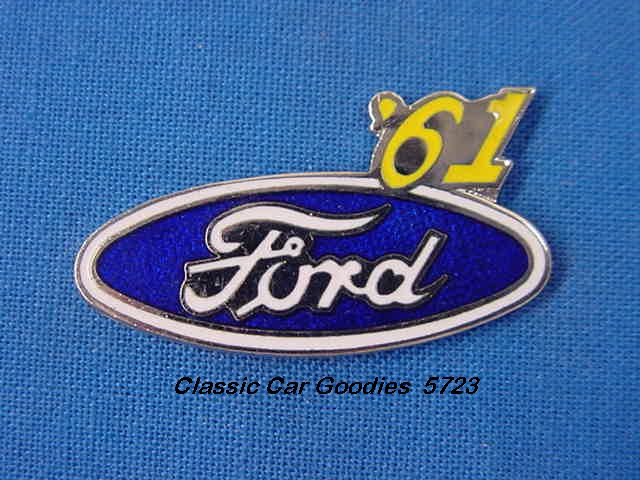 1961 Ford Blue Oval Hat Pin