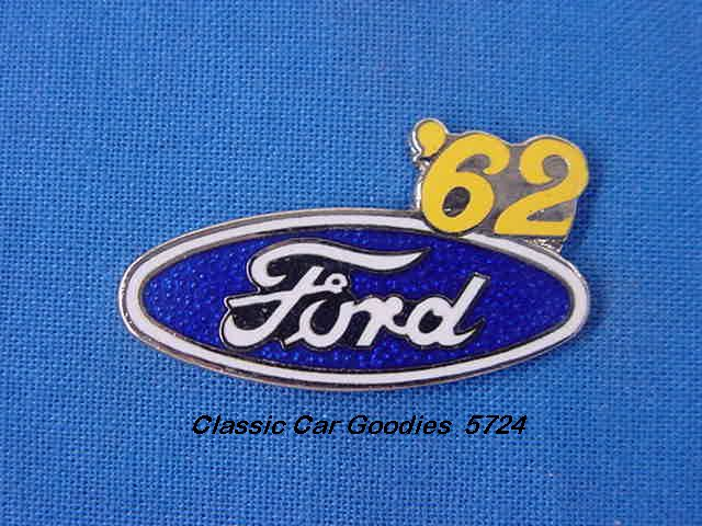 1962 Ford Blue Oval Hat Pin