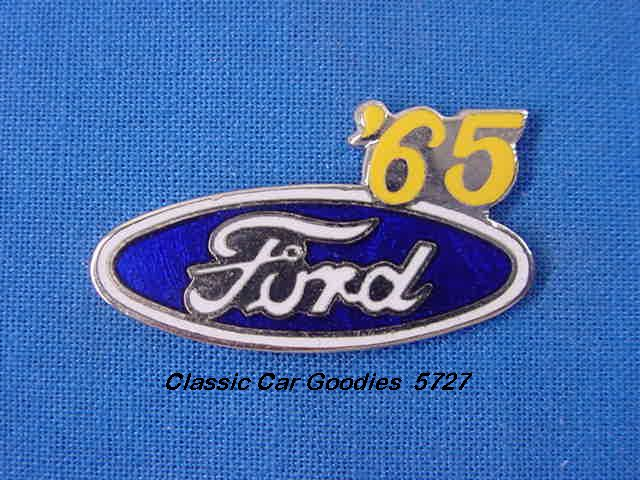 1965 Ford Blue Oval Hat Pin