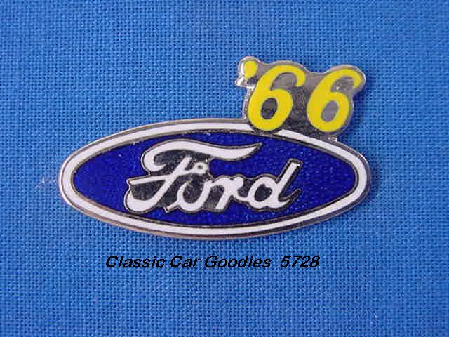 1966 Ford Blue Oval Hat Pin