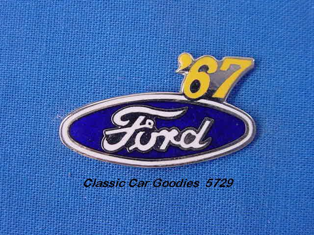1967 Ford Blue Oval Hat Pin