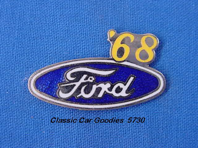 1968 Ford Blue Oval Hat Pin