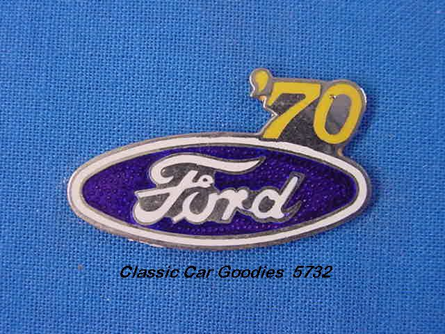 1970 Ford Blue Oval Hat Pin