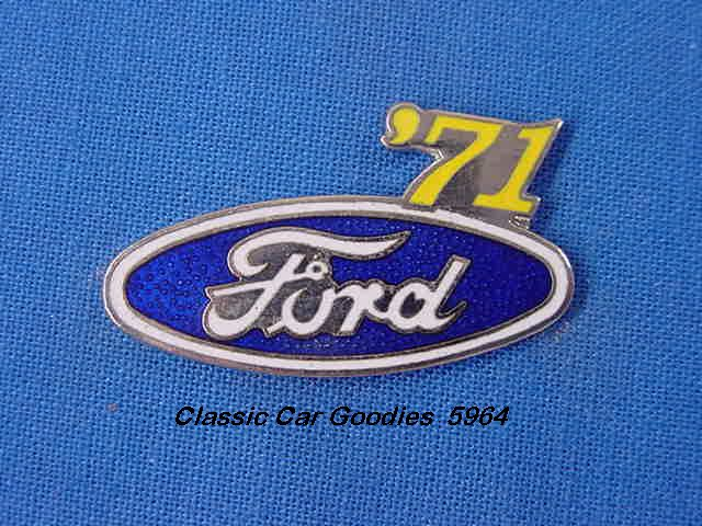 1971 Ford Blue Oval Hat Pin