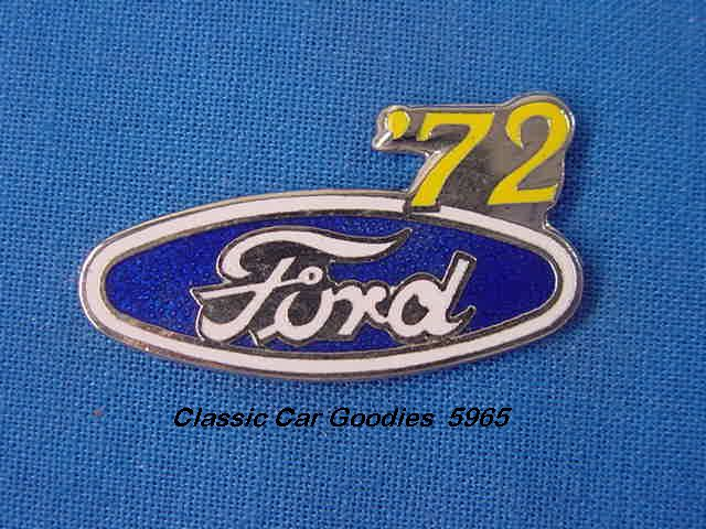 1972 Ford Blue Oval Hat Pin