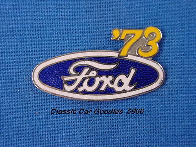 1973 Ford Blue Oval Hat Pin