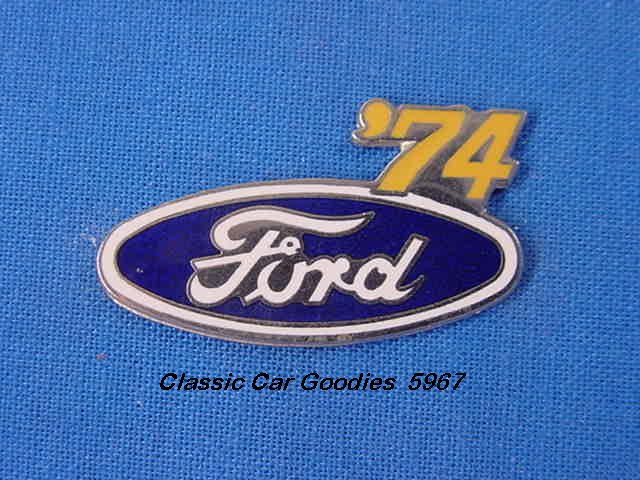 1974 Ford Blue Oval Hat Pin
