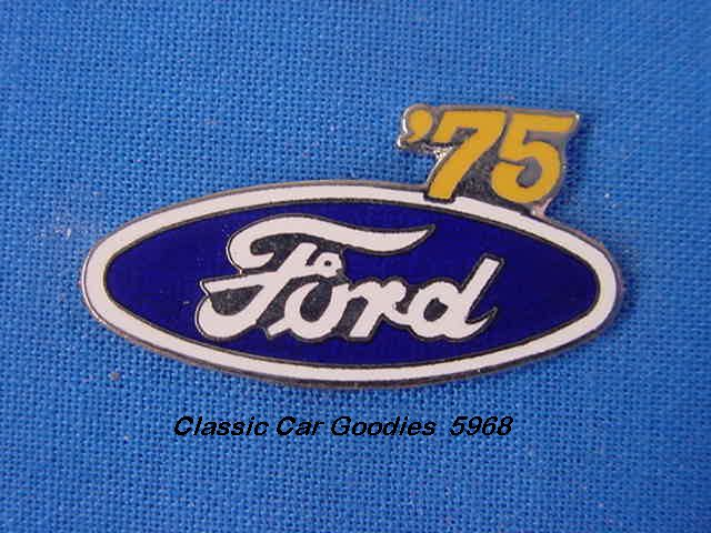 1975 Ford Blue Oval Hat Pin