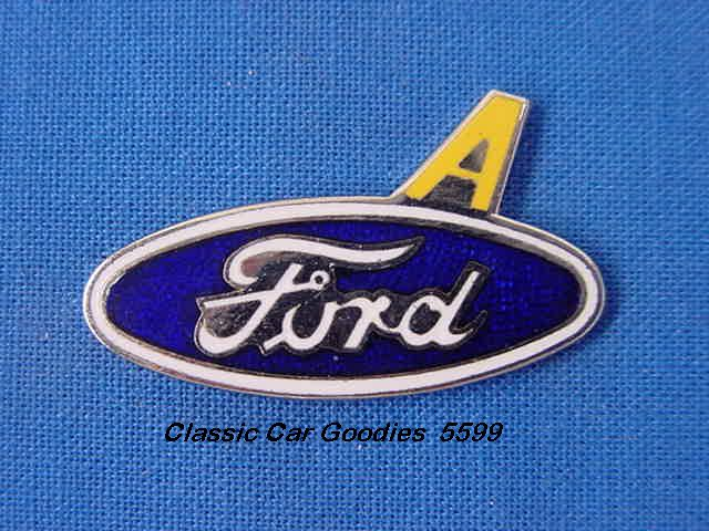 Ford Model A Blue Oval Hat Pin