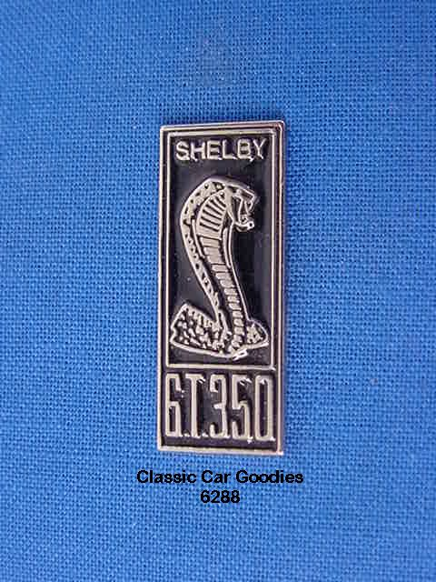 Ford Shelby GT350 Cobra Snake Hat Pin