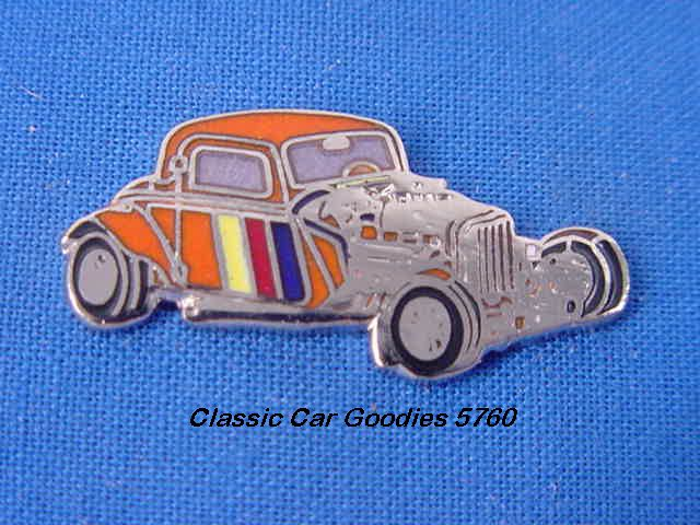 1934 Ford Street Rod Hat Pin