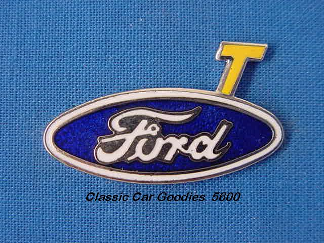 Ford Model T Blue Oval Hat Pin