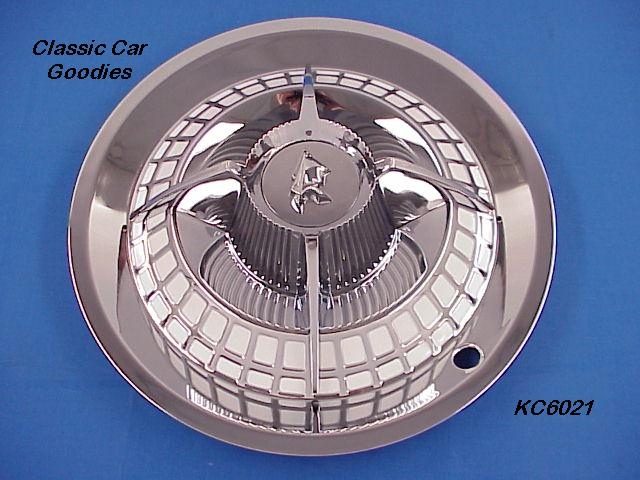 Hub Cap (1) Classic Lancer Chrome Steel 15 Brand New