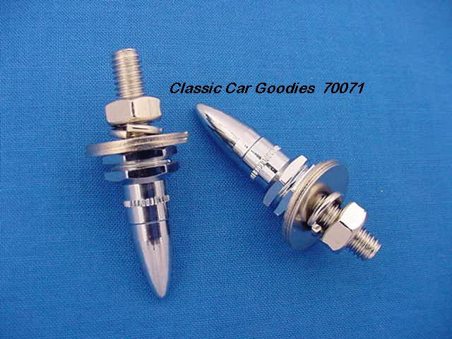 License Plate Bolts Fasteners Bullets Rifle