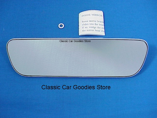 1963-1966 Chevy Impala & Belair Inside Mirror. Brand New!