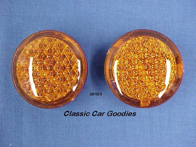 Led Accent Lights (2) Amber Cruiser Rat Rod Custom Hot