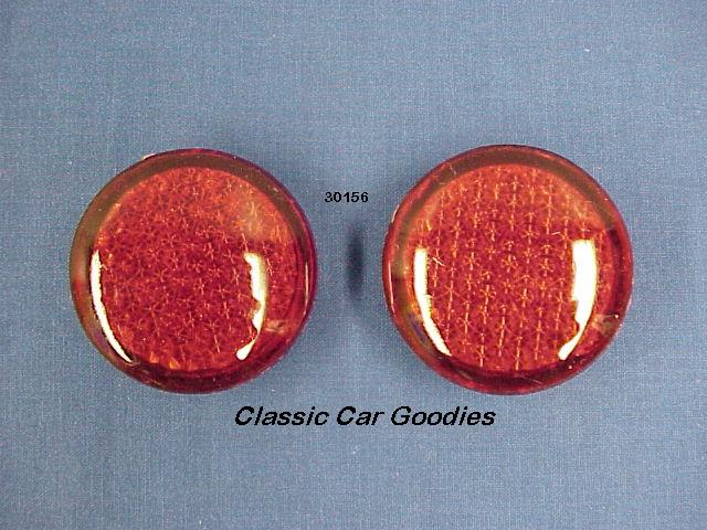 Led Accent Lights (2) Red Cruiser Rat Rod Custom Hot