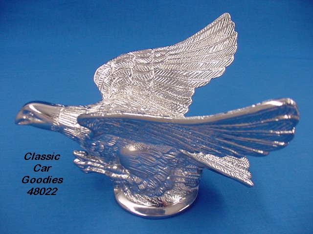 Hood Ornament Flying Eagle Patriotic Freedom USA