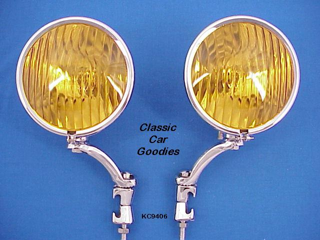 Fog Lights #1 Chevy Cadillac Touring Car 1927 1931 1933 1935 1938