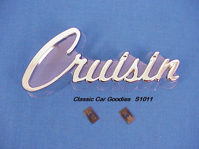 Cruisin Chrome Die Cast Emblem